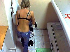 Tirkistelijä webcam alasti girl in solarium part35