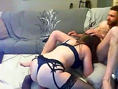 Asian Milf toys her pussy on webcam