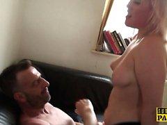 BDSM Euro spanked und schlug bei roughsex