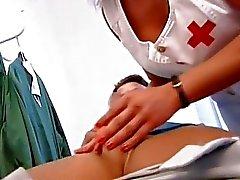 Жесткий секс в клинике в