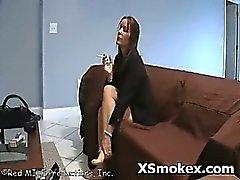 Puta cachonda Smoking Hot Fetish explícita de
