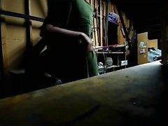woodshop decapagem e posando em sexyprivatecams de webcam
