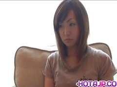 Sakura Hazuki ziemlich Asian Milf bekommt anal Wulst Behandlung