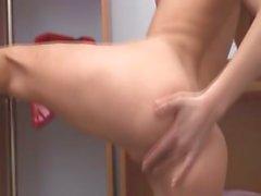Sexy Natasha belarusian playing with her