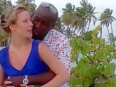 Tsjechische vrouw op vakantie in Jamaica