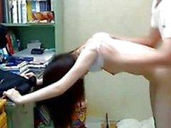 Koreanische Schwester Fuck Her Brother- 01