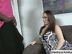 Black kuk slampa rasgränsöverskridande sex