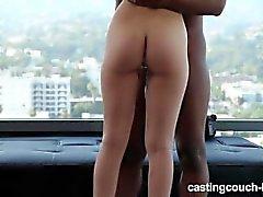 Petite Teen Take Huge Black Cock At Rap Video Casting