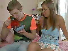 Teen is double penetrated