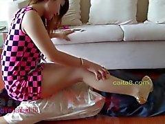 amante chinos fetichismo del pie