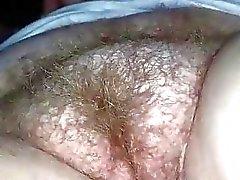 Tüylü Pussy Closeup Parmaklama
