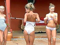 Des gymnastes rencontres Le Aliénor ELISSE et Stéphanie