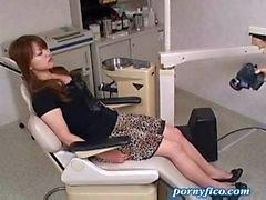 Милф выебанная по на стоматолога