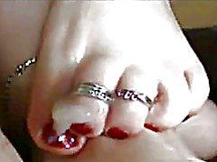 Pienet 3 tuuman itämainen pakistanilainen Rintojen FJ Strawberry Blonde