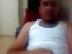 varie uomini dritto piedi sulla webcam nel