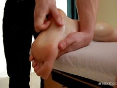 Erótica grande de la cogida Dick masaje para Trozo atractivo del músculo