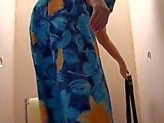 Eski bir ŞİŞMAN GÜZEL KADINLAR - Büyükannem Toilette 2'de Cock alan