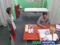 FakeHospital Hemşire damızlık ereksiyon yardımcı olur