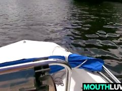 PAWG Cassidy Ryan Gets Nakes On A Boat
