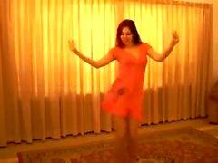 Bailarina del vientre saudita