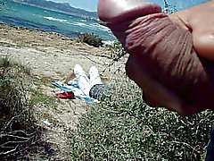 общественной мастурбация нар на пляж