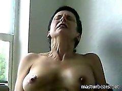 Lautes Orgasmus verworrene Granny von Frederique