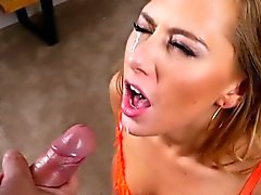 Pov tramp cum drenched