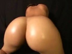 Big Naked Ass Bouncing Dance di Nordic-Western Blonde Dame
