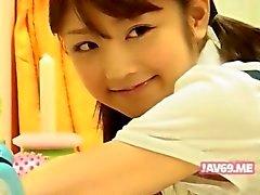 Das entzückende heiße koreanische Mädchen Bangen