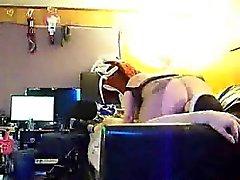 chienne marient asseoir sur de mon visage