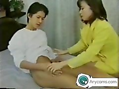 Japanische Mutter saugen seine Söhne dick UNCENSORED Arycams