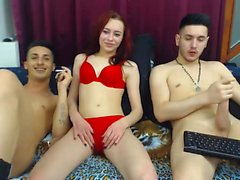 Tênis de webcam para adolescentes amadores