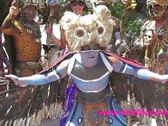 Анна Mancini на Тулум Мексика
