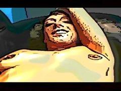 Ricki White Creampie deleite Gran culo whooty