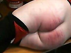 Cruel Caning big Ass slave Natalja