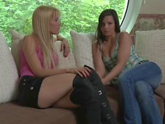 Sophie Moone and Eve Angel Lesbian Adventure