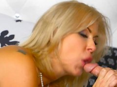Spying on Blonde Teen and MILF