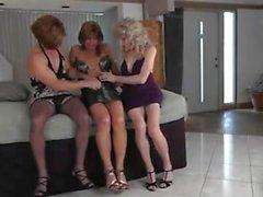 Удивительный гей шпилька групповой секс