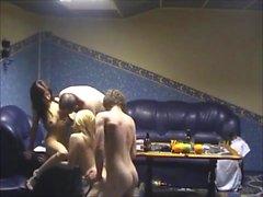 sexo na câmera escondida