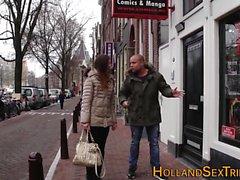 Echte niederländische Hooker reiben