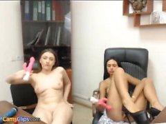 Layla Rose Hot masturbation chatte avec des jouets 8