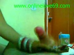 La chica de Bangladesh Nidhi recién casada wid Red Bangles - onlinelove69