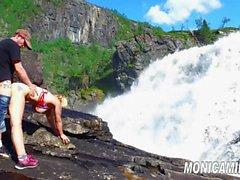 Норвежский порно - Норвегия Финляндия rundt имеющая MonicaMilf