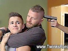 Partouze gay d'Andy de Taylor , de Ryker Madison , et les de Ian Levine ont été de 3 minuscules