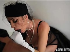 Ariella ferrera and T Real's Black Cock