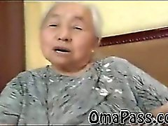 BBW old japanes granny fucking