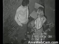 Sicherheits camoutdoor Blowjob