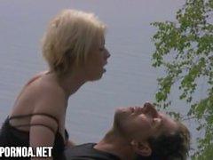 Finnische Outdoor-Sex auf dem Strand jugendlich blonde finnische suomiporno