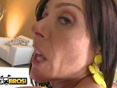 BANGBROS - Big Ass White MILF Kendra Lust получает ее киску разбит
