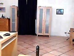 Bauchtanz Webcam Mädchen fährt Dildo